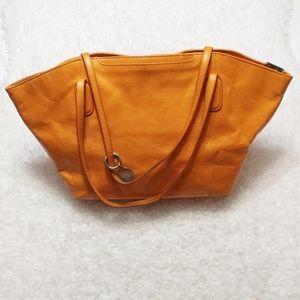 HOBO Original Domed Tote in Burnt Orange